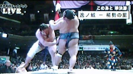 20150208 大相撲トーナメント 栃ノ心対豊ノ島