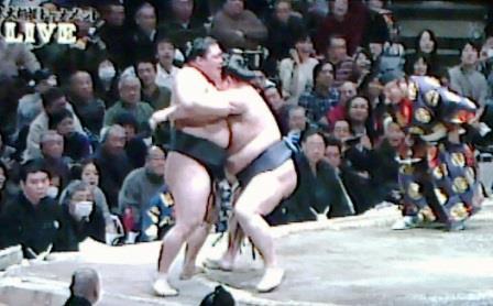 20150208 大相撲トーナメント 豪栄道対稀勢の里