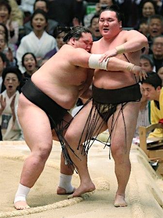 20150320 照ノ富士対白鵬 時事
