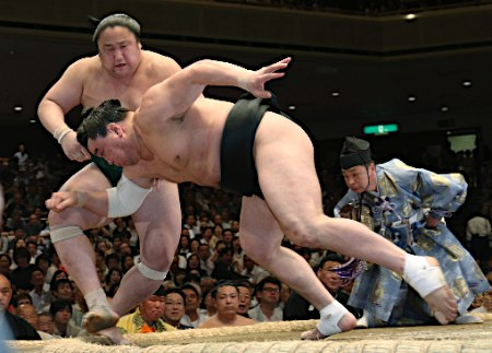 20150513 日馬富士対佐田の海 時事