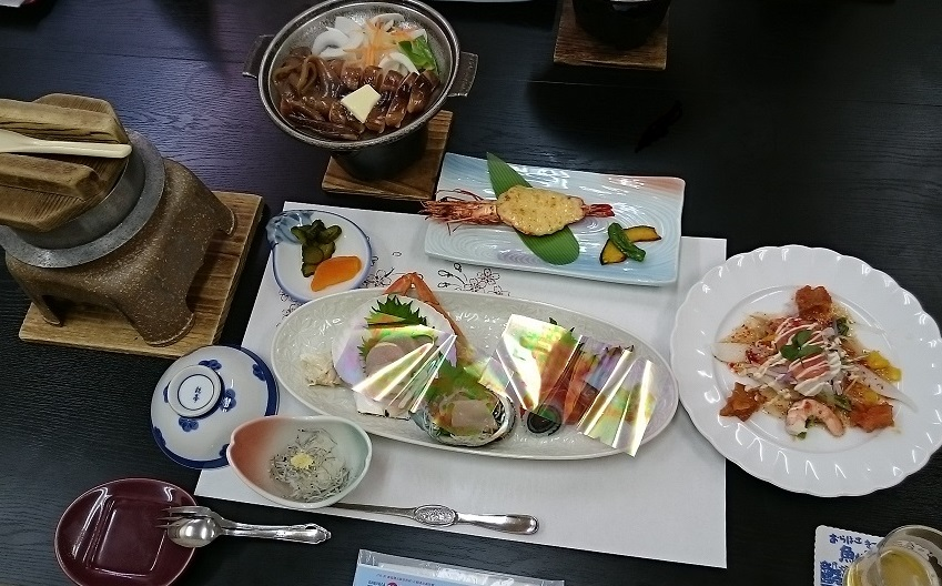 泊崎夕食1