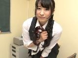 キュートな黒髪おさげ美少女 七瀬あさ美