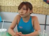 乳首が透けちゃった競泳水着を着たギャルを視姦していたら・・・