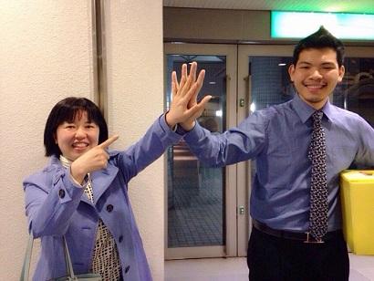 大きな手!!