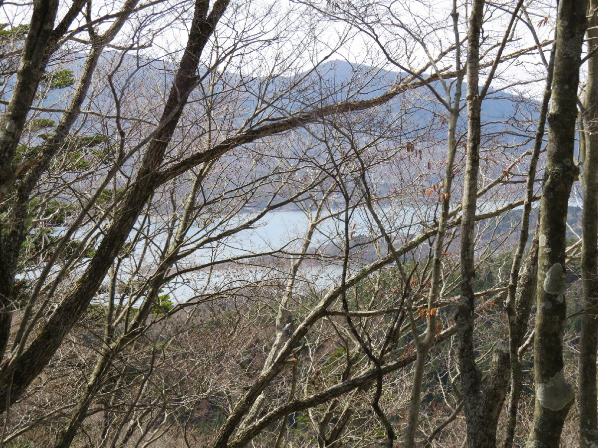 富士山隠れスポット04石割山