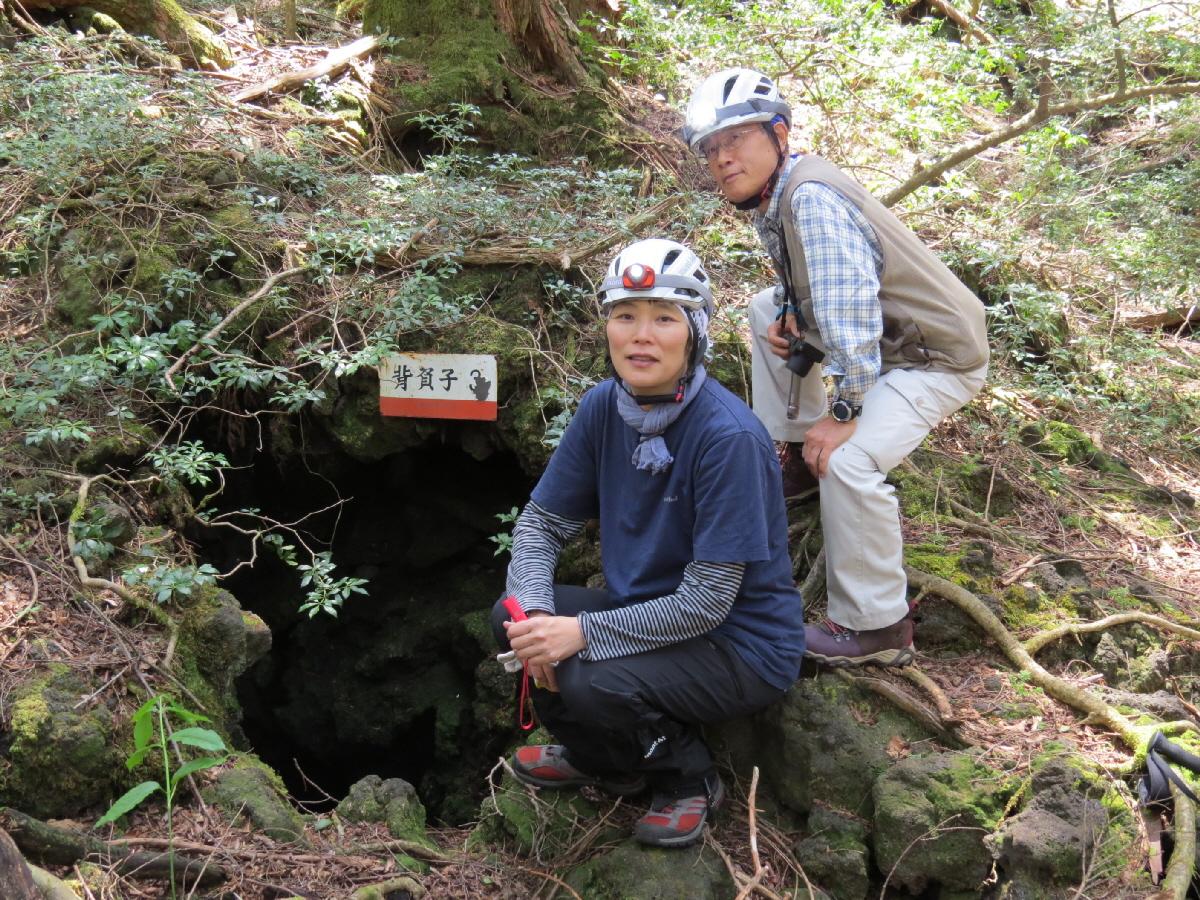 富士山隠れスポット背負子入口2