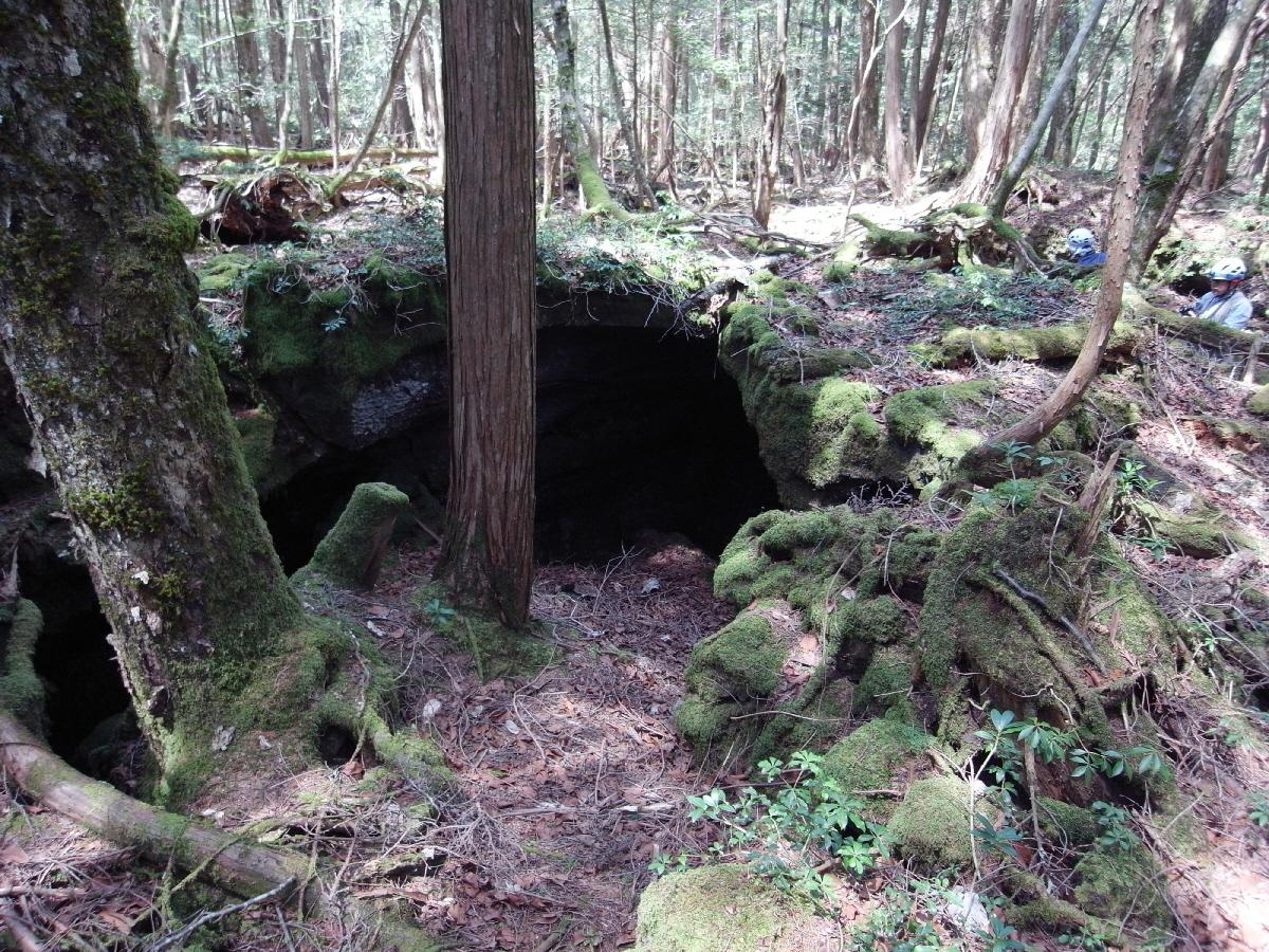 富士山隠れスポット背負子4-2入口