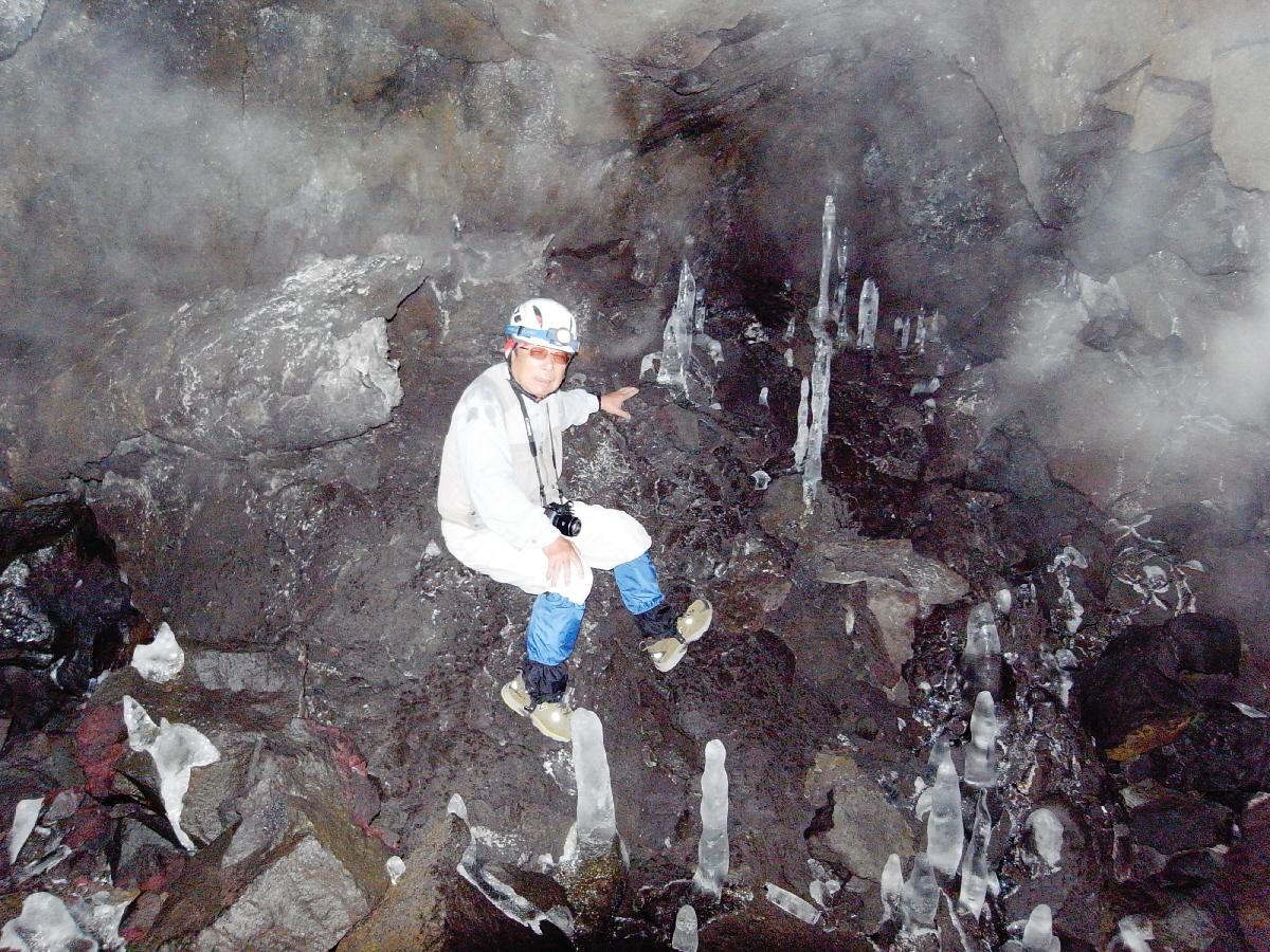 富士山隠れスポット背負子95-3氷筍gg
