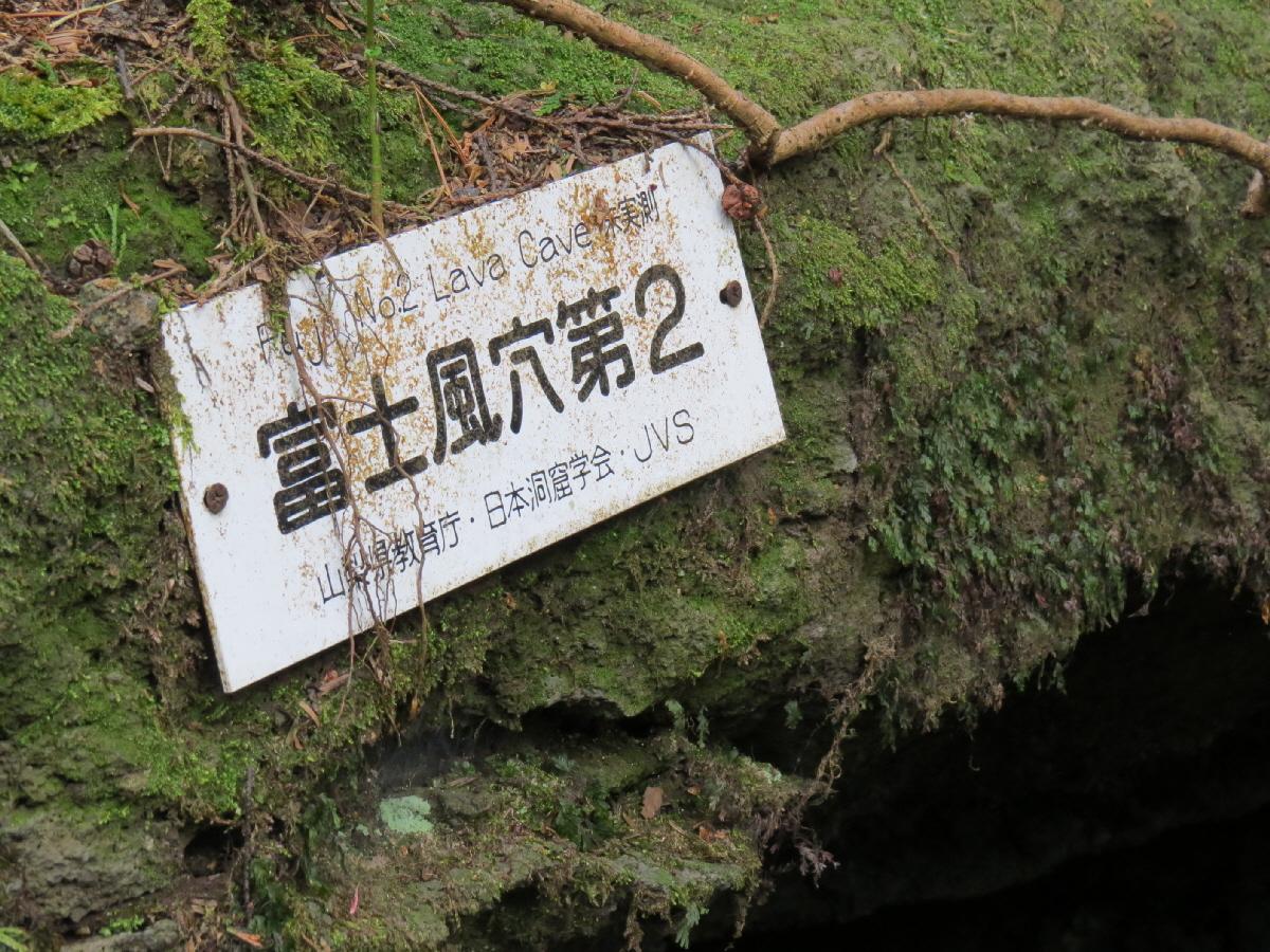 富士山隠れスポット富士風穴2-1