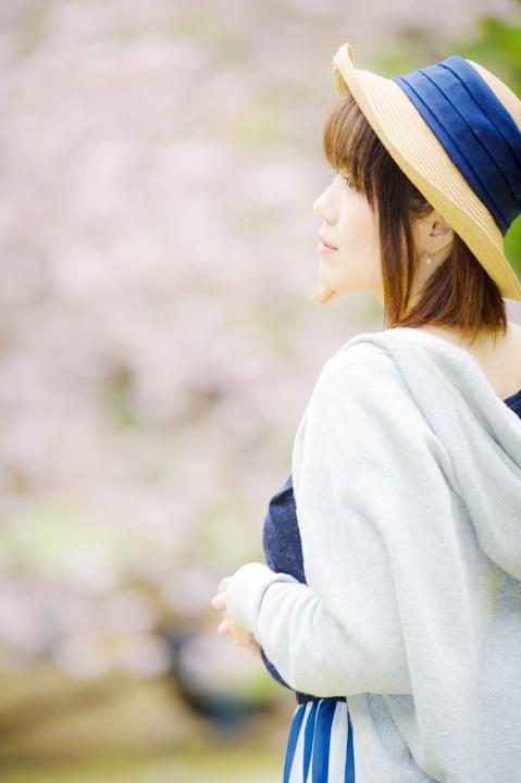 八重桜/私服ポトレ