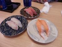 4/26 桜鯛、中とろ、とろサーモン  がってん寿司