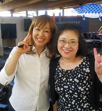 桂宏美さんと。