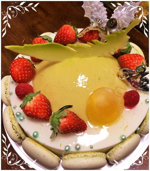 アステリスククリスマスケーキ