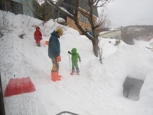 きゅうスキーデビュー