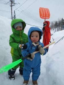 雪かきs何兄弟
