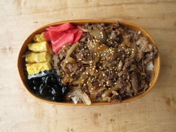 韓国風牛丼弁当