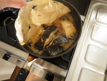 黒がれいの煮つけ