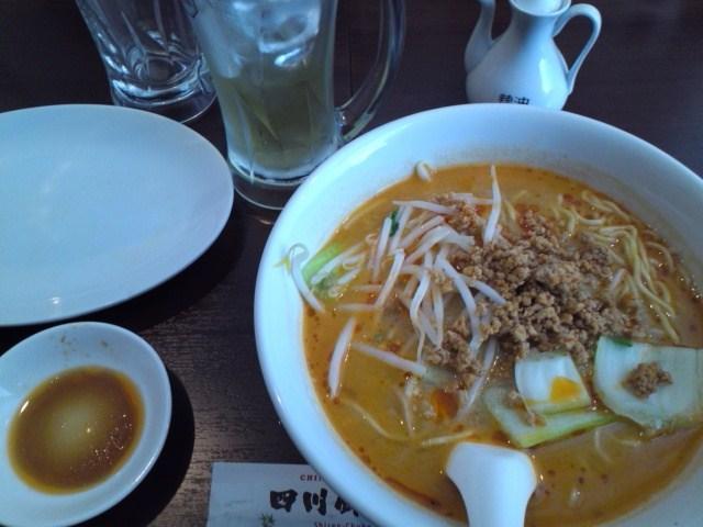 四川厨房の坦々麺
