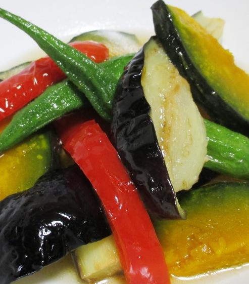 彩り野菜の揚げ浸し B