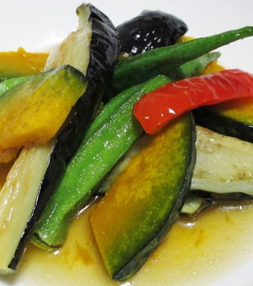 彩り野菜の揚げ浸し 大