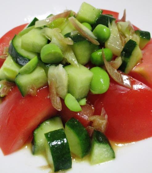 トマト&枝豆 大