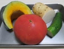 トマト&焼きかぼちゃ 材料