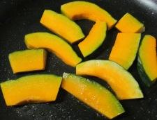 トマト&焼きかぼちゃ 調理①