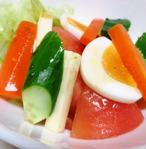 ゆで卵のサラダ B