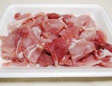 豚肉の時雨煮 【下準備】①