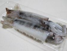 イカとカブの黒胡椒炒め 材料①