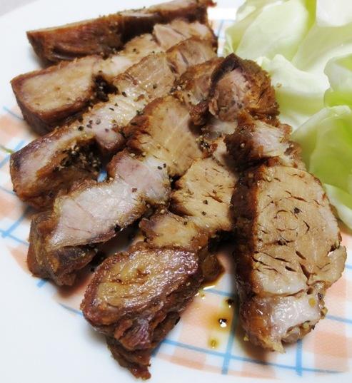 黒胡椒風味の揚げ豚 B
