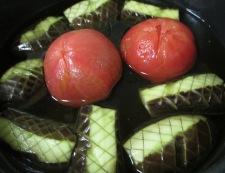 トマトとナスの冷し鉢 調理④