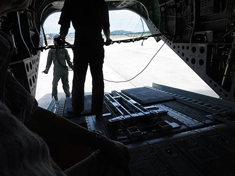 2015 7 27 ヘリ搭乗体験7