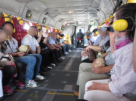 2015 7 27 ヘリ搭乗体験8