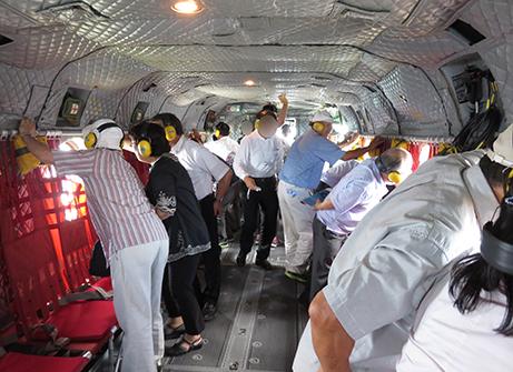 2015 7 27 ヘリ搭乗体験10