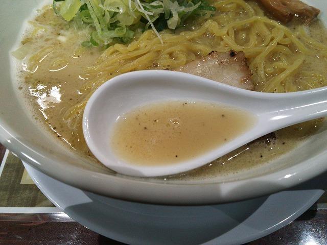 二代目晴レル屋_鶏白湯らーめん02