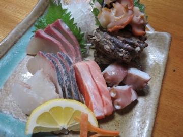 刺身 一人前 1575円~