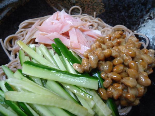 6/24 家食・納豆そば