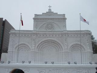 雪まつり2015マニラ大聖堂・2