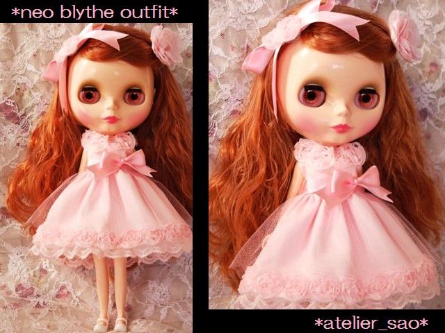 ◆ネオブライス服◆スウィートピンクな薔薇のドレス◇1