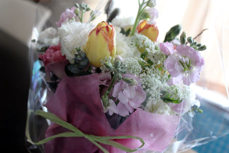 お彼岸★ふぁ実の花