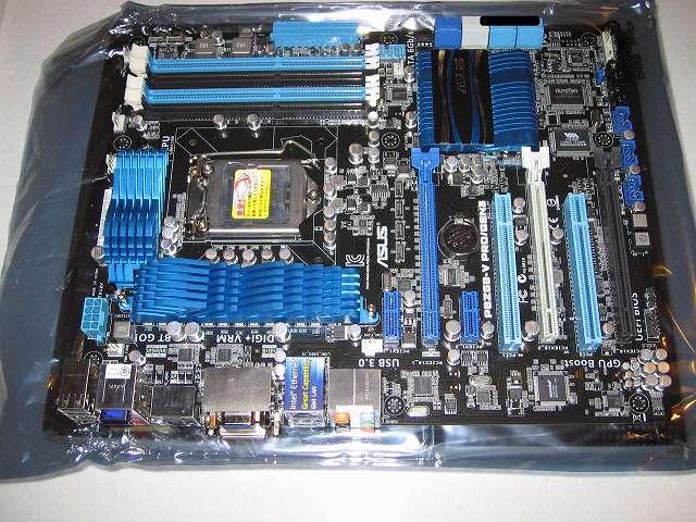 ASUS P8Z68-V PRO/GEN3 マザーボード 表 その2