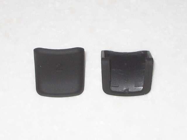 DS3 Dualshock3 デュアルショック3 Wireless Controller Black CECHZC2J A1 アタッチメント用 アンサー PS3用 プレイアップボタンセット ブラック 表面ラバー加工 L2・R2 ボタンアタッチメント