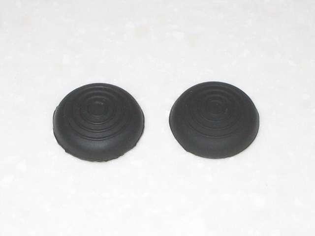 DS3 Dualshock3 デュアルショック3 Wireless Controller Black CECHZC2J A1 アタッチメント用 アンサー PS3用 プレイアップボタンセット ブラック シリコン製 アナログスティックアタッチメント(円形型のすべり止め) 表面