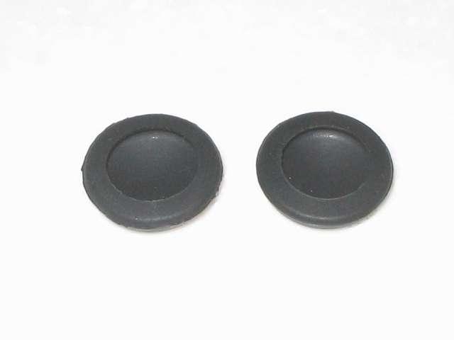 DS3 Dualshock3 デュアルショック3 Wireless Controller Black CECHZC2J A1 アタッチメント用 アンサー PS3用 プレイアップボタンセット ブラック シリコン製 アナログスティックアタッチメント(円形型のすべり止め) 装着側裏面