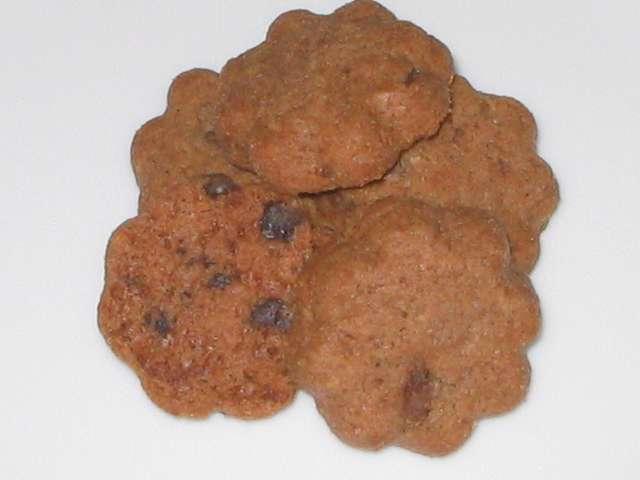 コペンハーゲン チョコチップクッキー 250g お皿に盛り付け