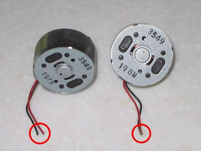DS3 Dualshock3 デュアルショック3 Wireless Controller Black CECHZC2J A1 電子回路基板からリード線を切断した振動モーター