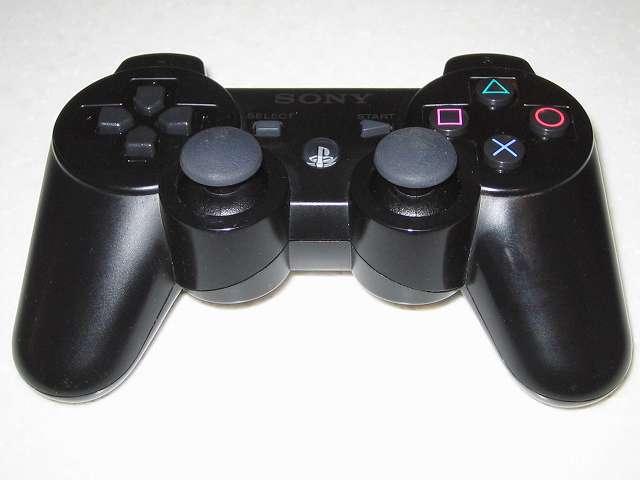 DS3 Dualshock3 デュアルショック3 Wireless Controller Black CECHZC2J A1 コントローラー本体下部プラスチックカバーを取り付け