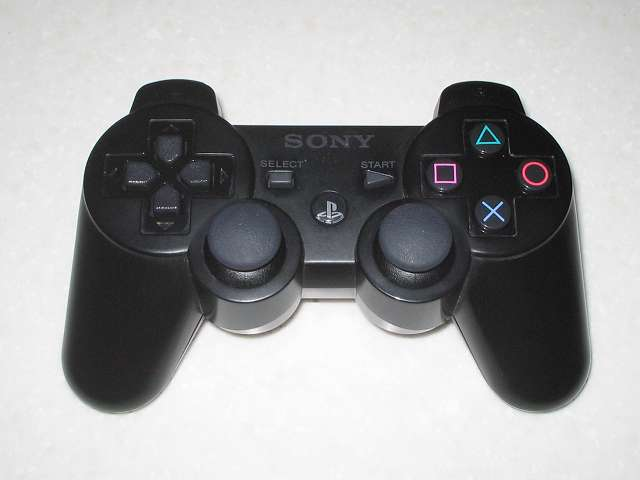 DS3 Dualshock3 デュアルショック3 Wireless Controller Black CECHZC2J A1 組み立て作業完了
