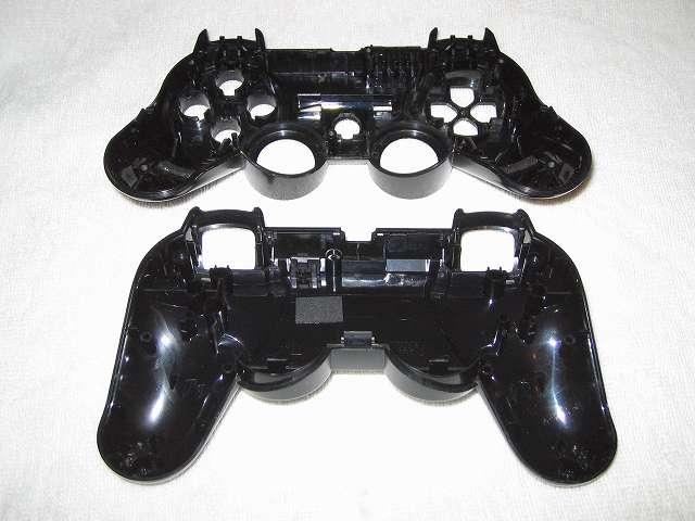 DS3 Dualshock3 デュアルショック3 Wireless Controller Black CECHZC2J A1 クリーニング作業、コントローラー本体内側、綿棒と無水エタノールとつまようじを使い汚れを取る